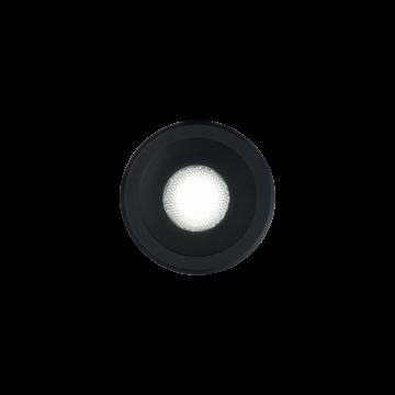 Светодиодный светильник Ideal Lux Virus BK 244846, LED 3W, черный, металл