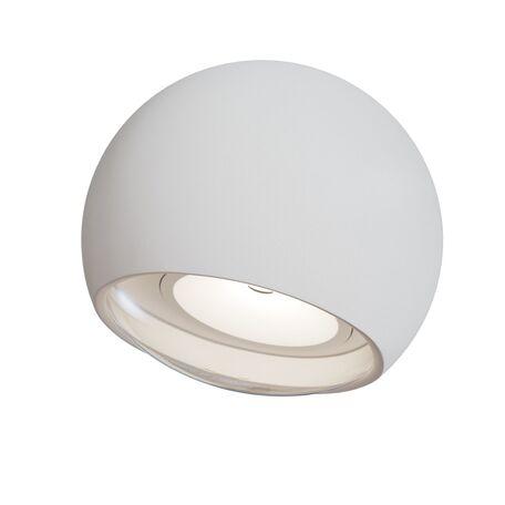 Настенный светильник Maytoni O032WL-L3W3K, IP54, белый, металл