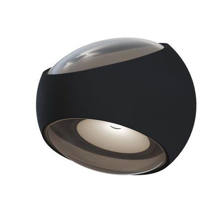 Настенный светильник Maytoni O032WL-L6B3K, IP54, черный, металл
