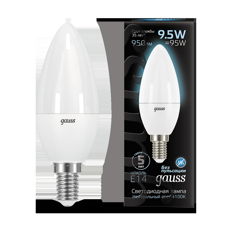 Светодиодная лампа Gauss 103101210, белый - фото 1