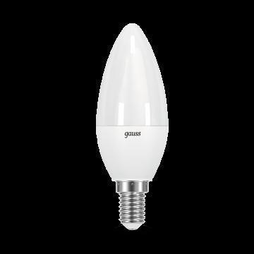 Светодиодная лампа Gauss 103101210 свеча E14 9,5W, 4100K (холодный) CRI>90 150-265V, гарантия 5 лет - миниатюра 2