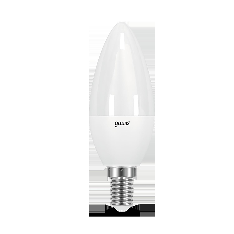 Светодиодная лампа Gauss 103101210 свеча E14 9,5W, 4100K (холодный) CRI>90 150-265V, гарантия 5 лет - фото 2