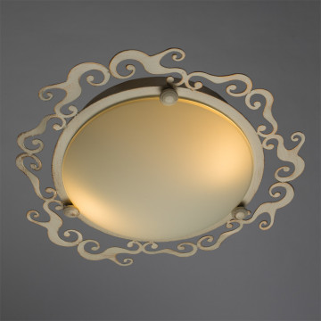 Arte Lamp Riccioli A1060PL-2WG, 2xE27x60W, белый - миниатюра 2