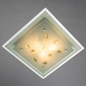 Arte Lamp Snow White A4058PL-3CC, 3xE27x60W, белый - миниатюра 2