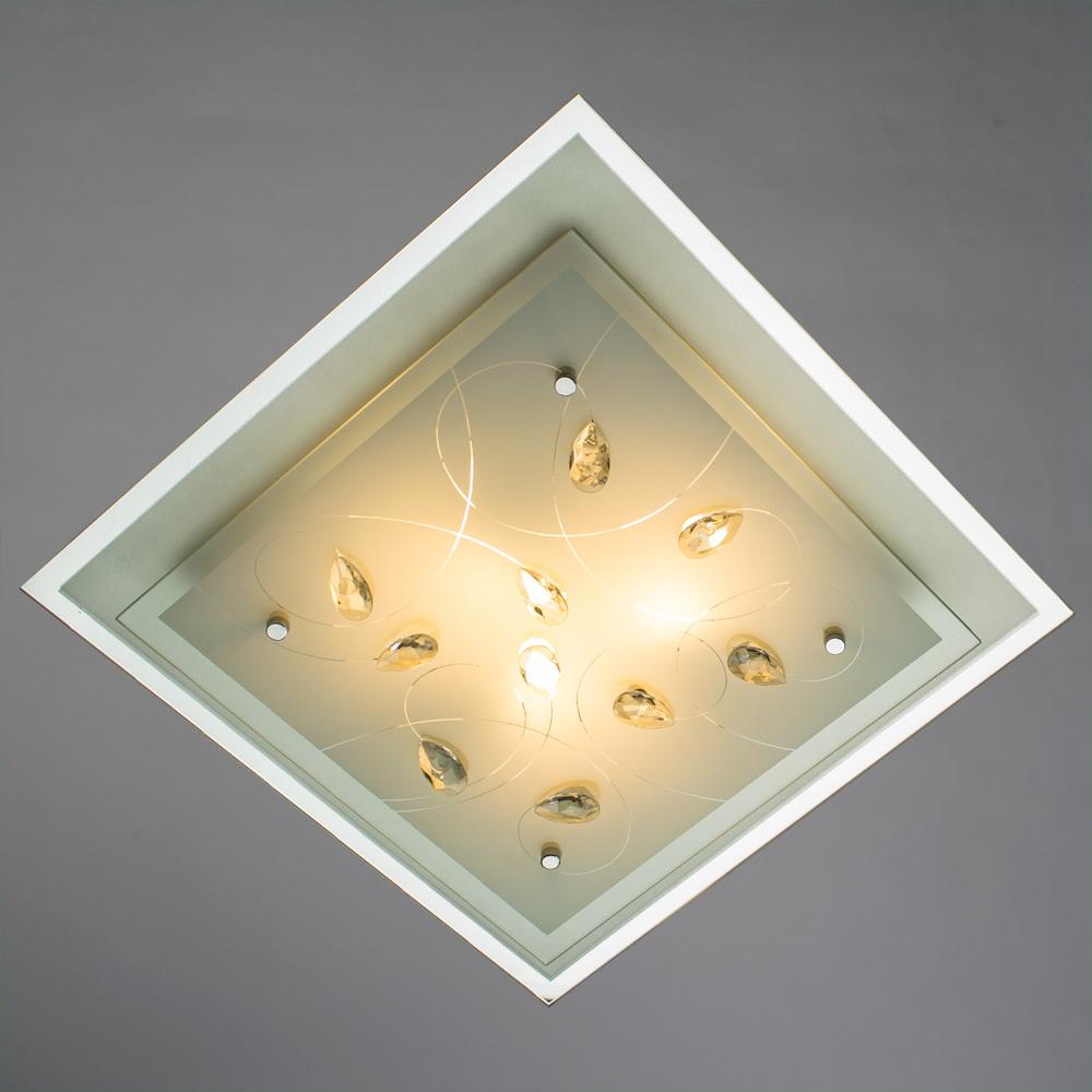 Arte Lamp Snow White A4058PL-3CC, 3xE27x60W, белый - фото 2