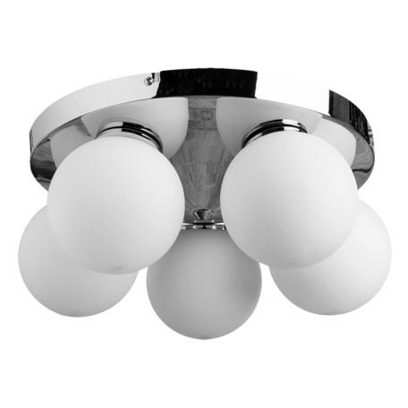 Arte Lamp Aqua A4445PL-5CC, IP44, 5xG9x33W, белый