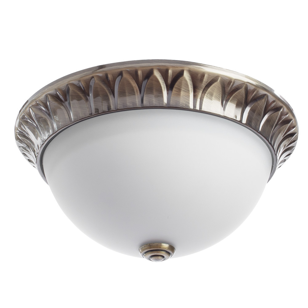 Arte Lamp Porch A7838PL-2AB, 2xE14x40W, белый - фото 1