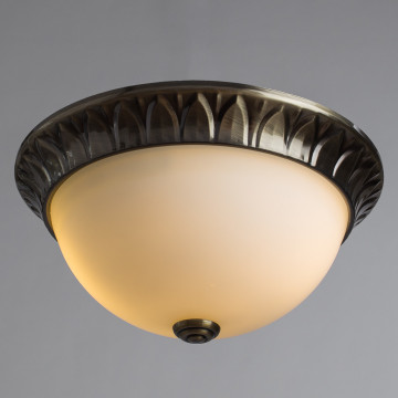 Arte Lamp Porch A7838PL-2AB, 2xE14x40W, белый - миниатюра 2