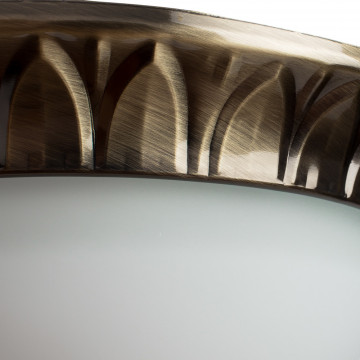 Arte Lamp Porch A7838PL-2AB, 2xE14x40W, белый - миниатюра 3