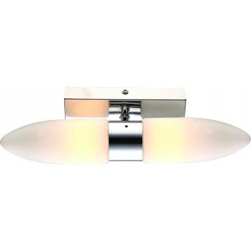 Arte Lamp Aqua A9502AP-2CC, IP44, 2xG9x33W, белый