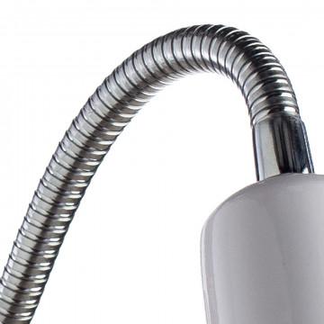 Настенный светильник Arte Lamp MercoLED A5048AP-1WH, 1xE27x40W, белый, хром, металл - миниатюра 3