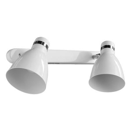 Настенный светильник с регулировкой направления света Arte Lamp MercoLED A5049AP-2WH, 2xE27x40W, белый, металл