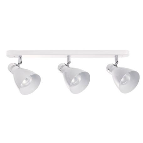 Настенный светильник с регулировкой направления света Arte Lamp MercoLED A5049PL-3WH, 3xE27x40W, белый, металл