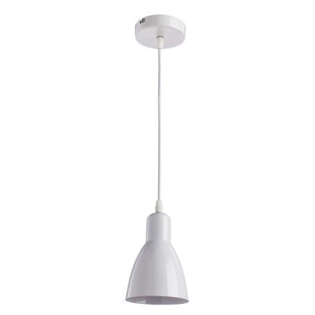 Подвесной светильник Arte Lamp MercoLED A5049SP-1WH, 1xE27x40W, белый, металл