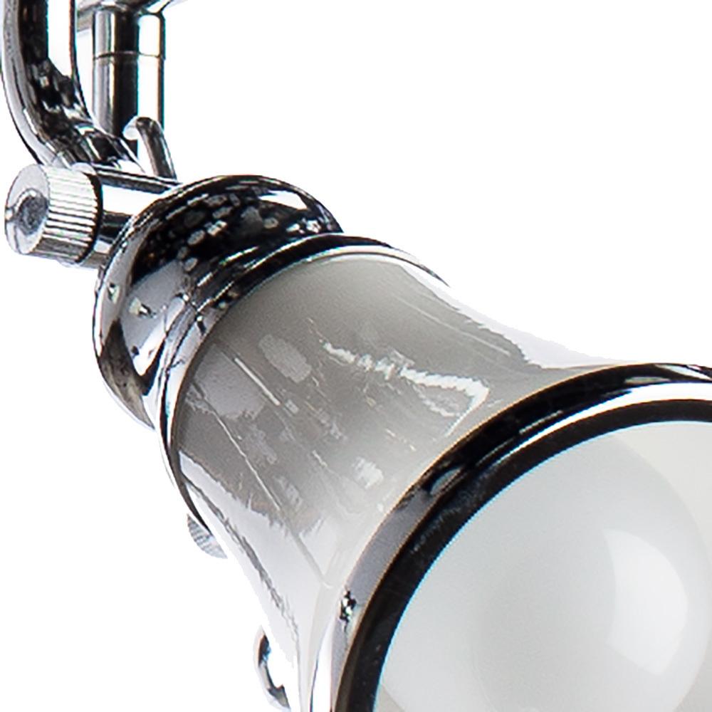 Потолочная люстра с регулировкой направления света Arte Lamp Vento A9231PL-5CC, 5xE14x40W, хром, металл, стекло - фото 3