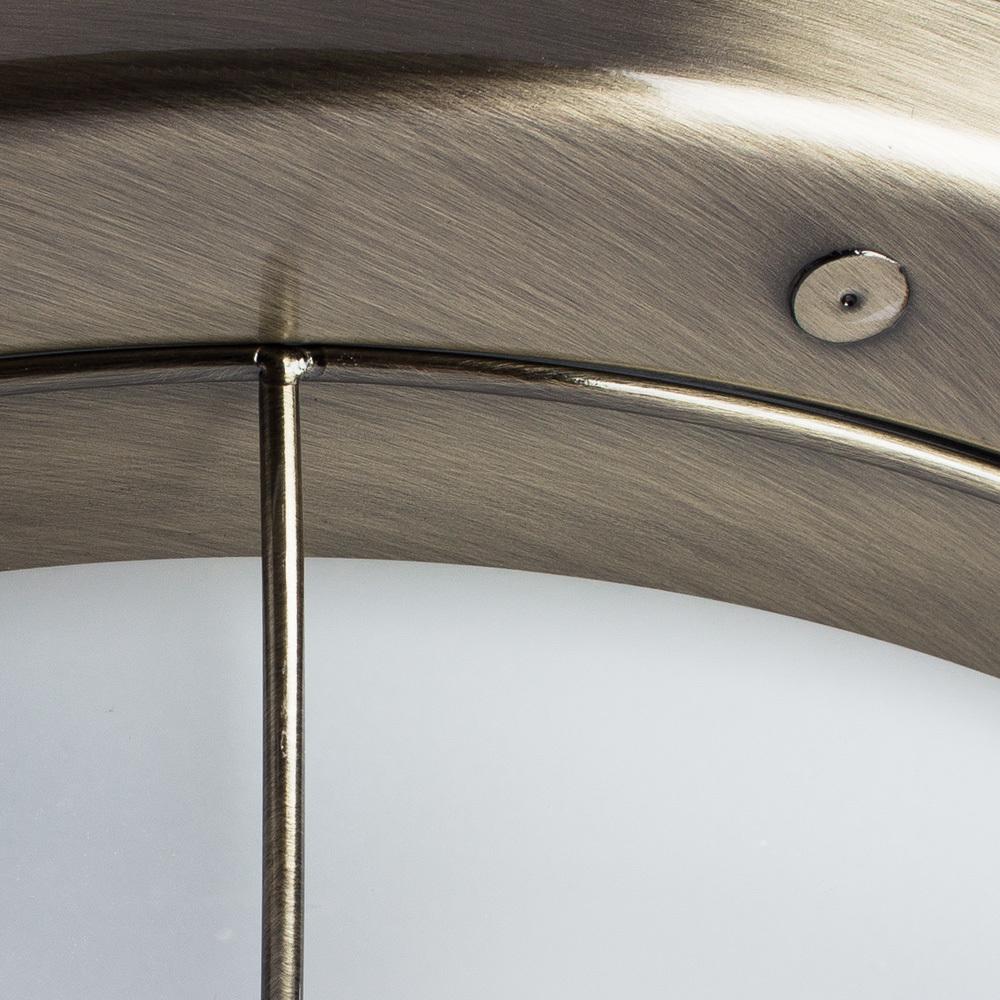 Потолочный светильник Arte Lamp Porch A1308PL-3AB, 3xE27x60W, бронза, белый, металл, стекло - фото 3