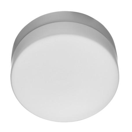 Потолочный светильник Arte Lamp Aqua A3211PL-1WH, IP44, 1xE27x60W, белый, металл, стекло
