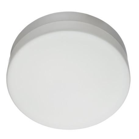 Потолочный светильник Arte Lamp Aqua A3211PL-2WH, IP44, 2xE27x60W, белый, металл, стекло