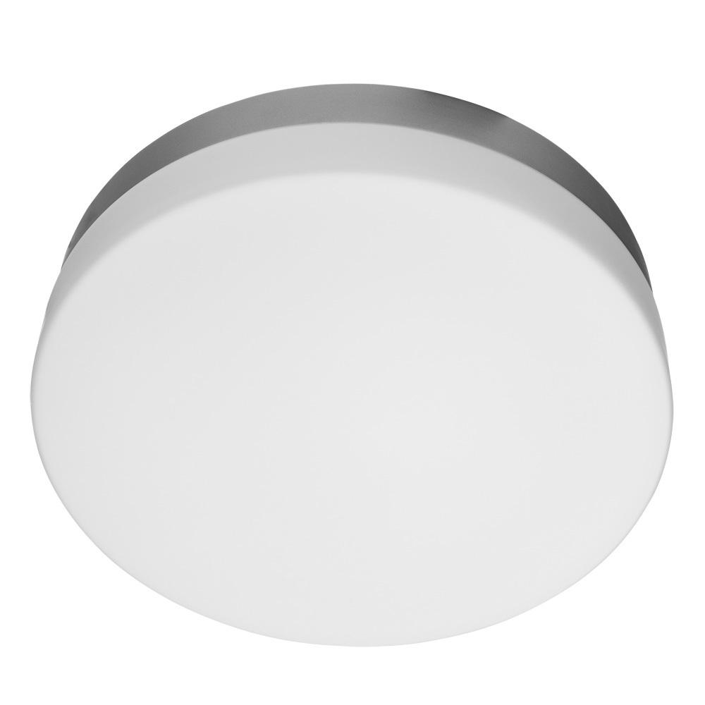 Потолочный светильник Arte Lamp Aqua A3211PL-3SI, IP44, 3xE27x60W, серебро, белый, металл, стекло - фото 1