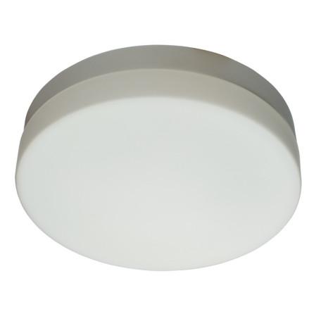 Потолочный светильник Arte Lamp Aqua A3211PL-3WH, IP44, 3xE27x60W, белый, металл, стекло