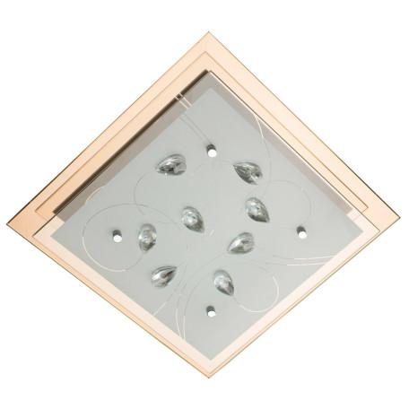 Потолочный светильник Arte Lamp Tiana A4042PL-2CC, 2xE27x60W, хром, белый, прозрачный, металл, стекло