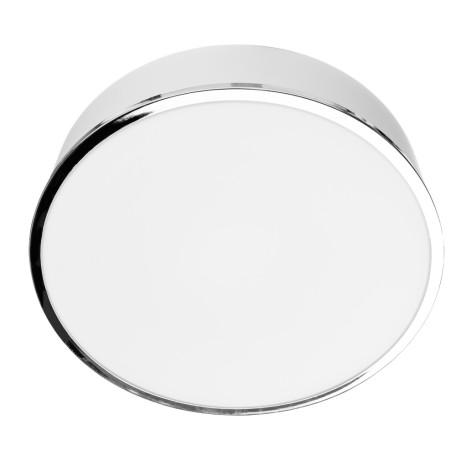 Потолочный светильник Arte Lamp Aqua A4440PL-3CC, IP44, 3xE27x40W, хром, белый, металл, стекло