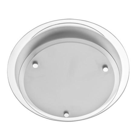 Потолочный светильник Arte Lamp Rapunzel A4867PL-1CC, 1xE27x60W, хром, белый, металл, стекло