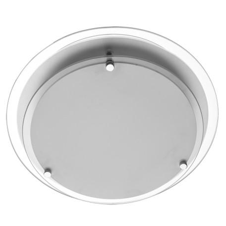 Потолочный светильник Arte Lamp Rapunzel A4867PL-2CC, 2xE27x60W, хром, белый, металл, стекло