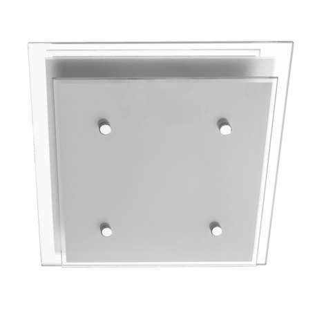 Потолочный светильник Arte Lamp Rapunzel A4868PL-1CC, 1xE27x60W, хром, белый, металл, стекло - миниатюра 1
