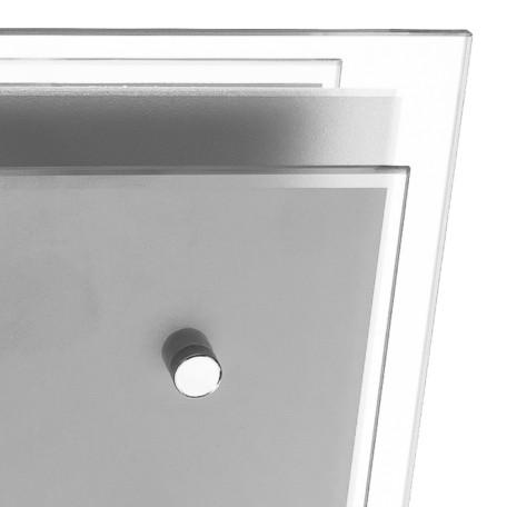 Потолочный светильник Arte Lamp Rapunzel A4868PL-1CC, 1xE27x60W, хром, белый, металл, стекло - миниатюра 3