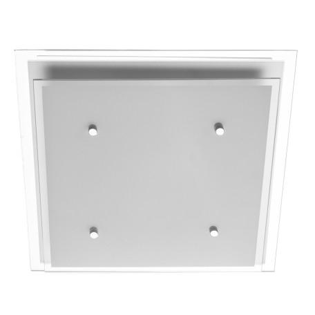 Потолочный светильник Arte Lamp Rapunzel A4868PL-2CC, 2xE27x60W, хром, белый, металл, стекло