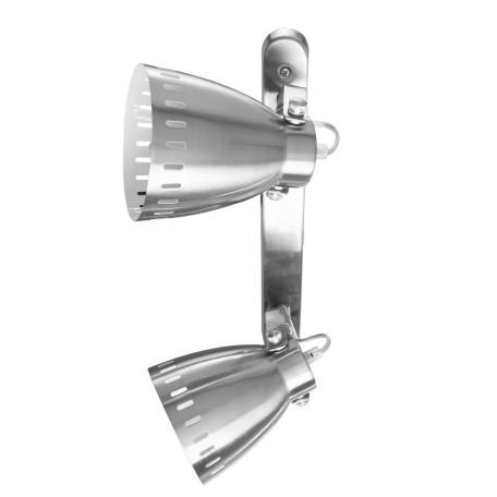 Потолочный светильник с регулировкой направления света Arte Lamp Luned A2214AP-2SS, 2xE27x40W, серебро, металл