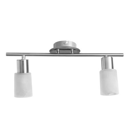 Потолочный светильник с регулировкой направления света Arte Lamp Cavalletta A4510PL-2SS, 2xE14x40W, хром, белый, металл, стекло