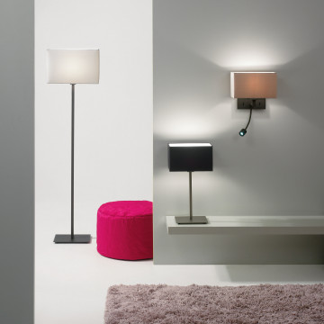 Бра Astro Park Lane 1080002 (516), 1xE14x60W, хром, черный, металл, текстиль - миниатюра 3