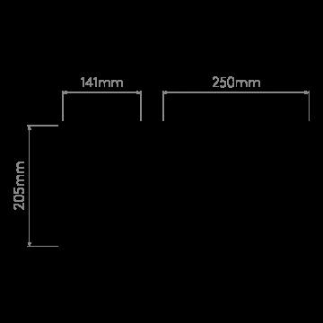 Схема с размерами Astro 1080002