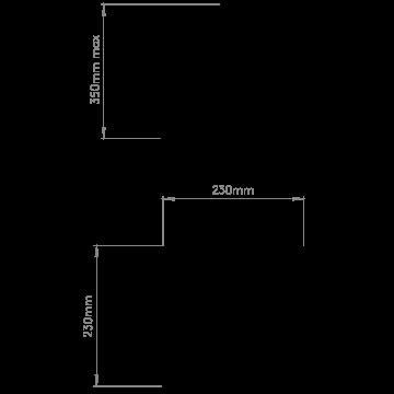 Схема с размерами Astro 1163002
