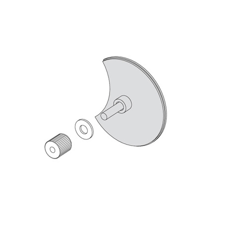 Крепление для монтажа светильника на зеркало Astro Mirror Adaptor Kit 6001002 (992), хром, металл