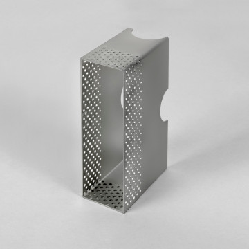 Монтажная рамка Astro Borgo 6013001 (1817), серебро, металл
