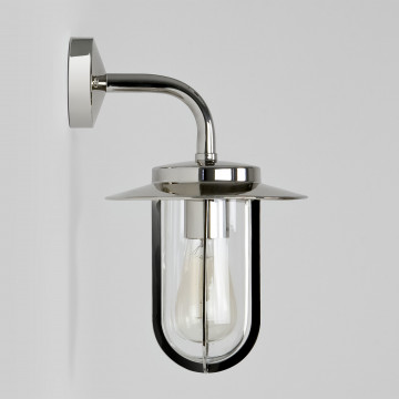 Настенный фонарь Astro Montparnasse 1096001 (484), IP44, 1xE27x60W, хром, прозрачный, металл, металл со стеклом - миниатюра 3
