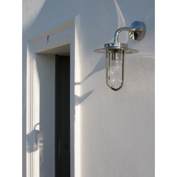 Настенный фонарь Astro Montparnasse 1096001 (484), IP44, 1xE27x60W, хром, прозрачный, металл, металл со стеклом - миниатюра 5