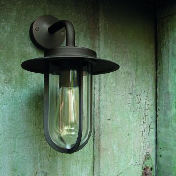 Настенный фонарь Astro Montparnasse 1096001 (484), IP44, 1xE27x60W, хром, прозрачный, металл, металл со стеклом - миниатюра 7