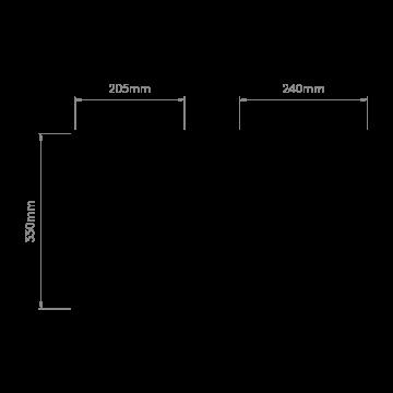 Схема с размерами Astro 1096001