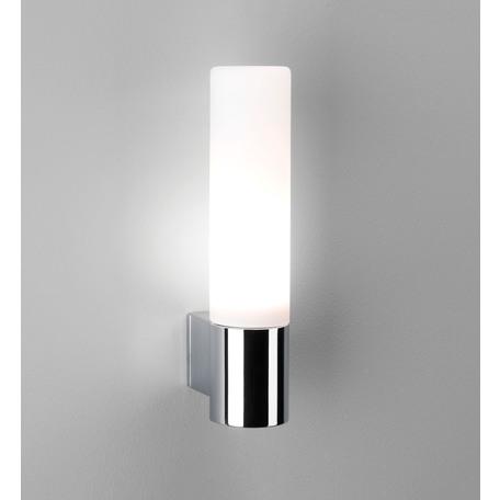 Настенный светильник Astro Bari 1047001 (340), IP44, 1xG9x40W, хром, белый, металл, стекло