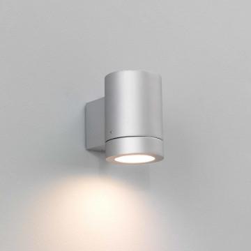 Настенный светильник Astro Porto 1082003 (623), IP44, 1xGU10x11W, серебро, металл, стекло