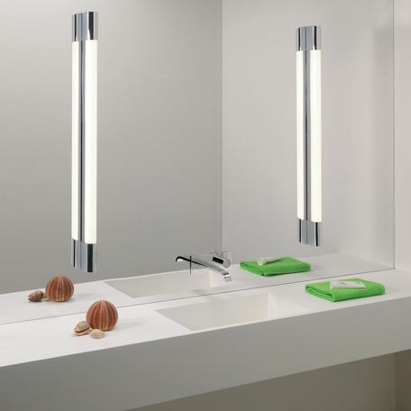 Настенный светильник Astro Palermo 1084012 (0838), IP44, 1xG5T5x29W, хром, белый, металл, пластик