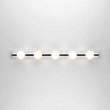Настенный светильник Astro Cabaret 1087003 (0957), IP44, 5xG9x25W, хром, белый, металл, стекло
