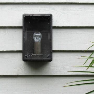 Настенный светильник Astro Homefield 1095002 (0562), IP44, 1xE27x60W, бронза, прозрачный, стекло - миниатюра 3