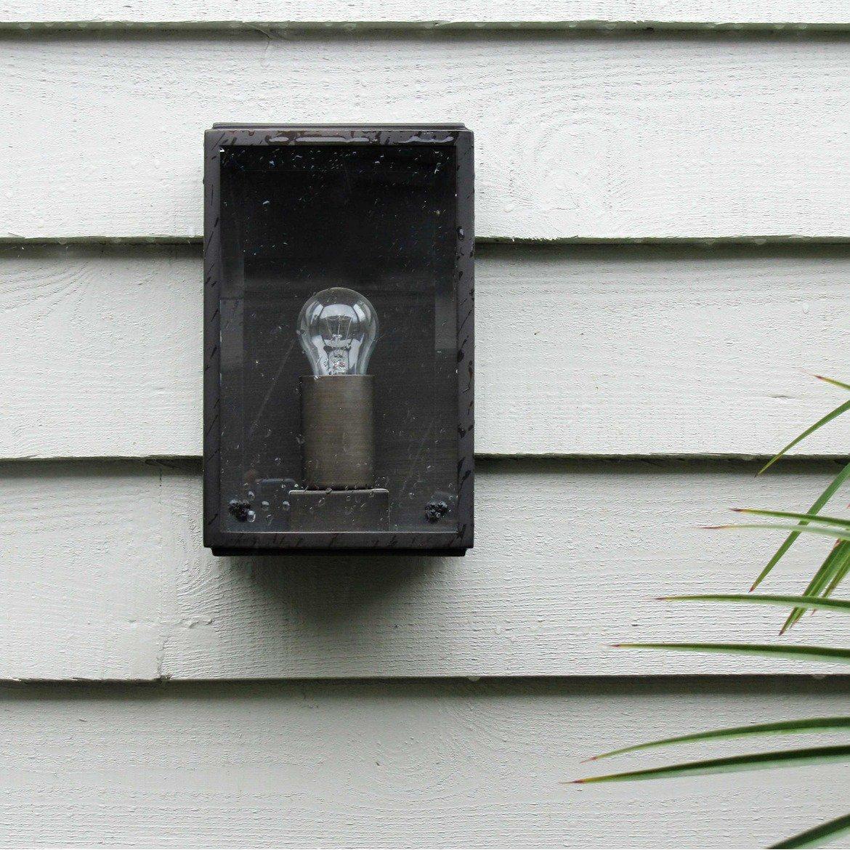 Настенный светильник Astro Homefield 1095002 (0562), IP44, 1xE27x60W, бронза, прозрачный, стекло - фото 3