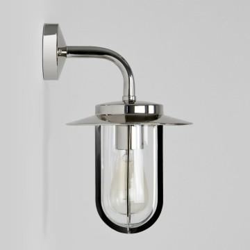 Настенный фонарь Astro Montparnasse 1096001 (484), IP44, 1xE27x60W, хром, прозрачный, металл, металл со стеклом/пластиком - миниатюра 3
