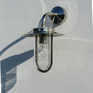 Настенный фонарь Astro Montparnasse 1096001 (484), IP44, 1xE27x60W, хром, прозрачный, металл, металл со стеклом/пластиком - миниатюра 4
